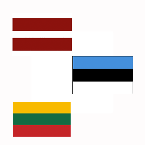 baltic flags